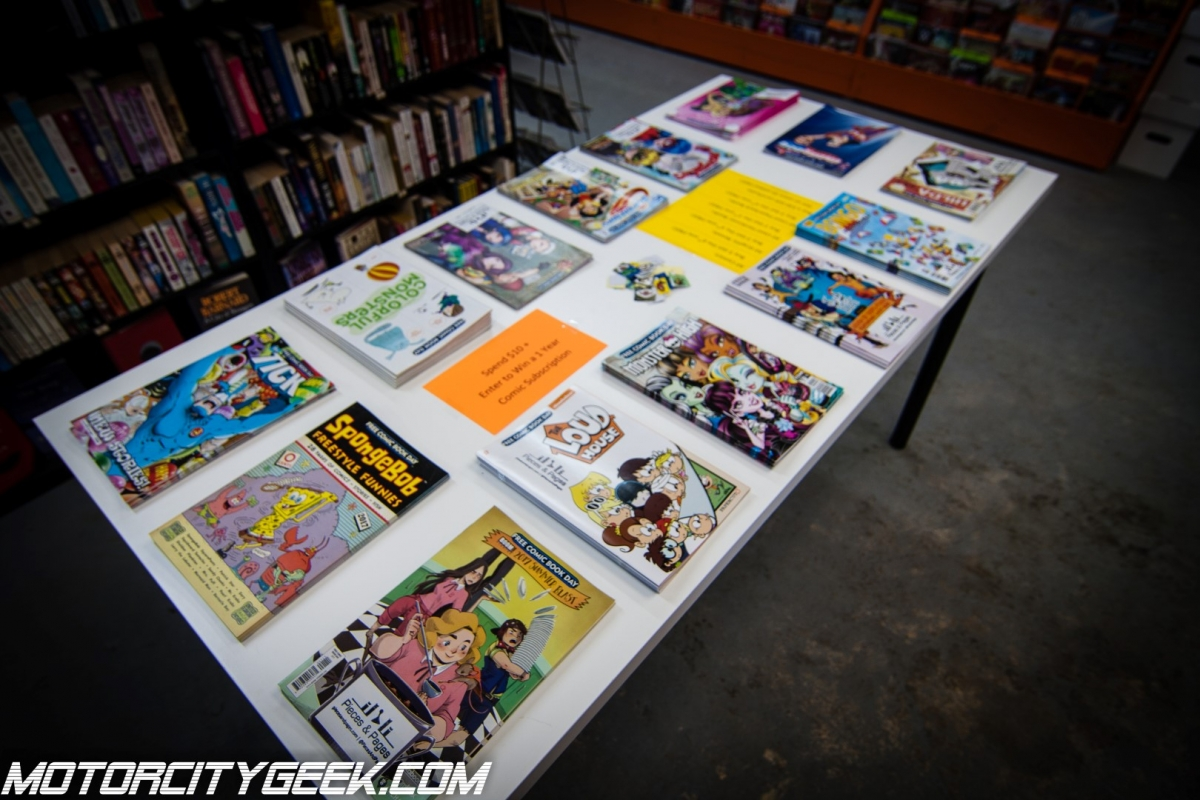 Free Comic Book Day 2017 Motor City Geek