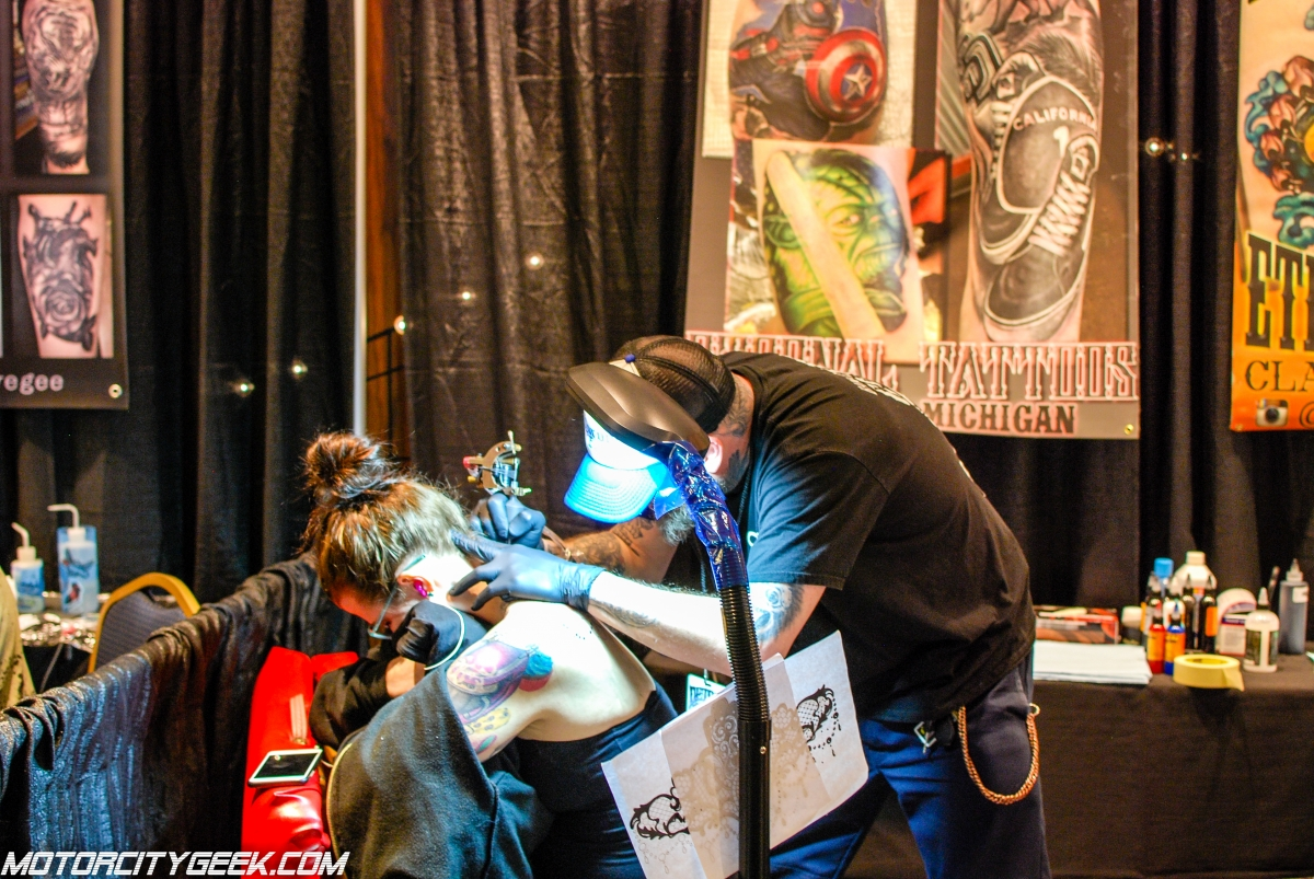 22nd annual motor city tattoo expo motor city geek for Detroit tattoo convention 2017